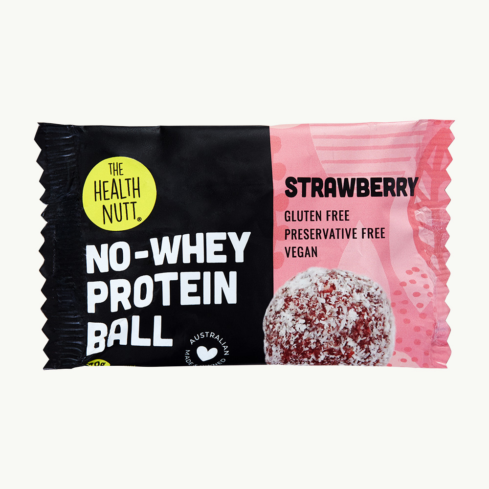No-Whey Protein Ball Strawberry