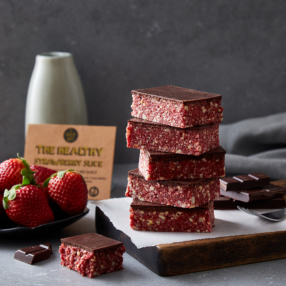 The Healthy Strawberry Slice