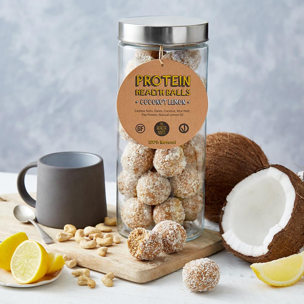Protein Health Balls – Coconut Lemon
