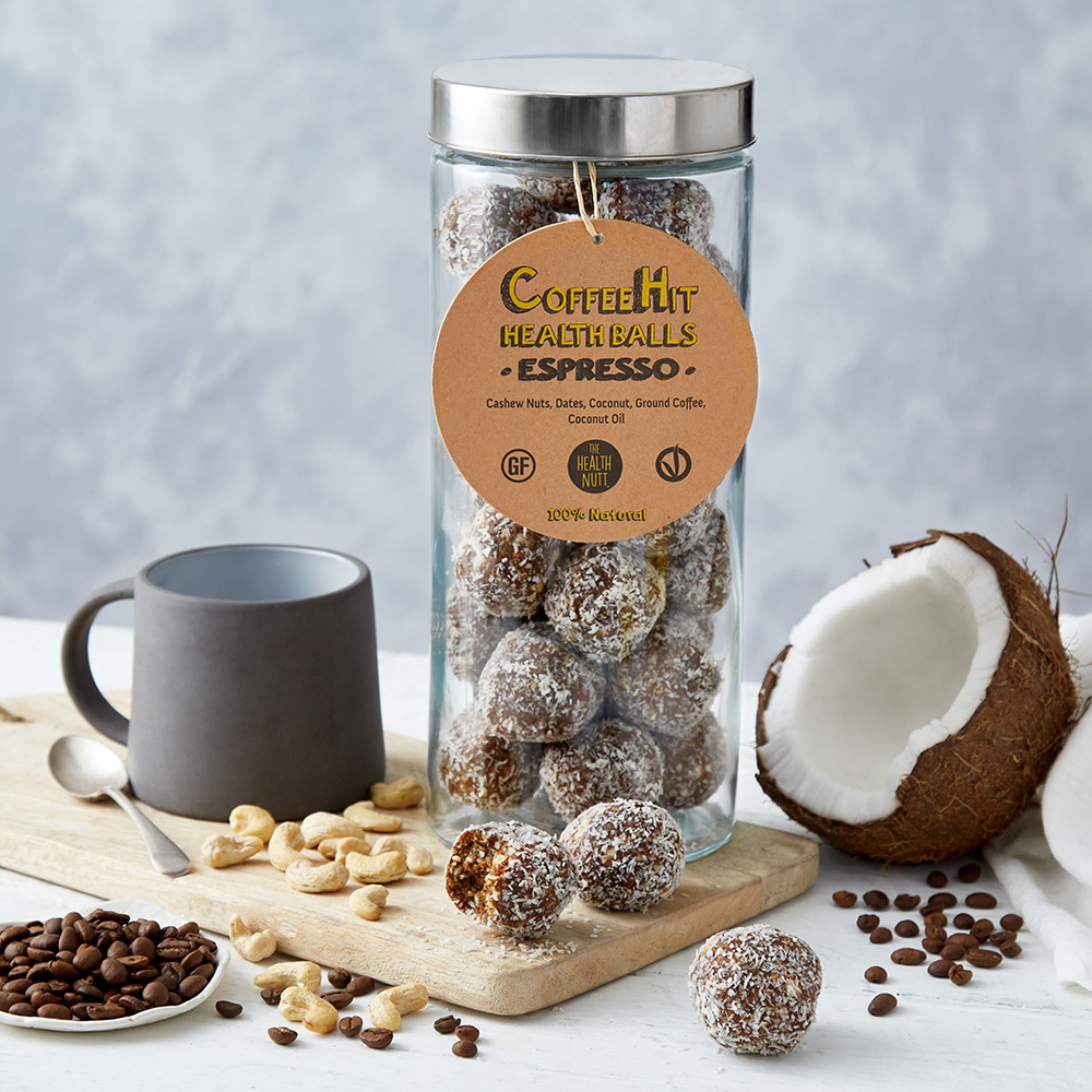 Coffee Hit Health Balls – Espresso