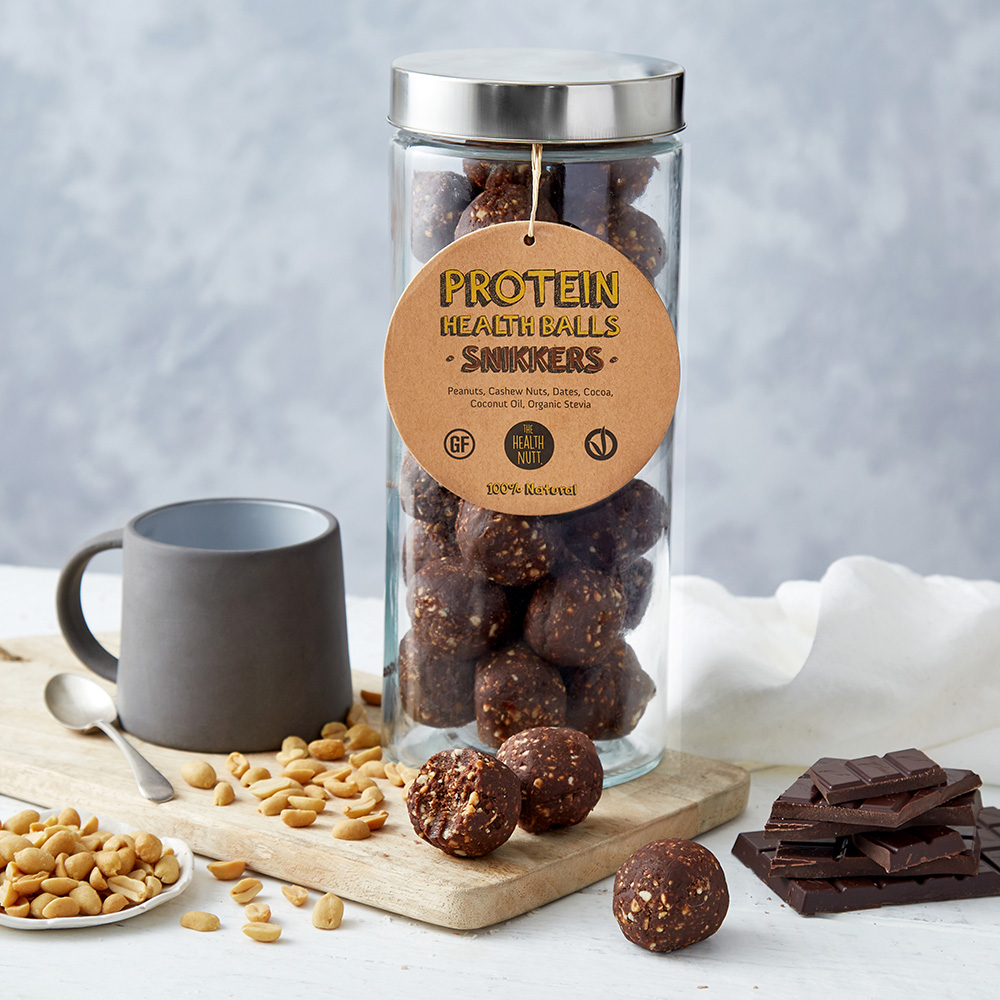 Protein Health Balls – Snikkers