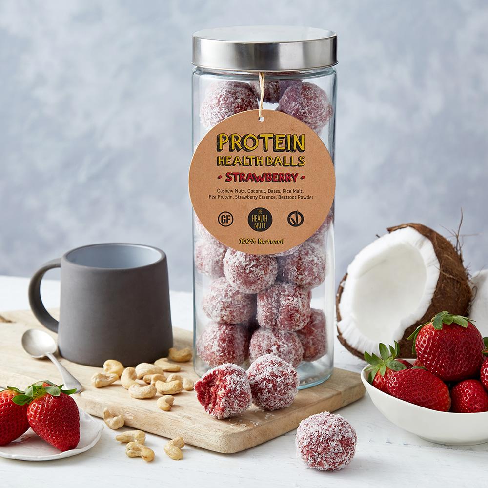 Protein Health Balls – Strawberry